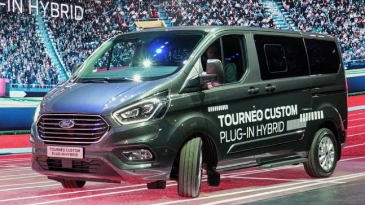 Ford Transit Custom Hybrid Plug-in