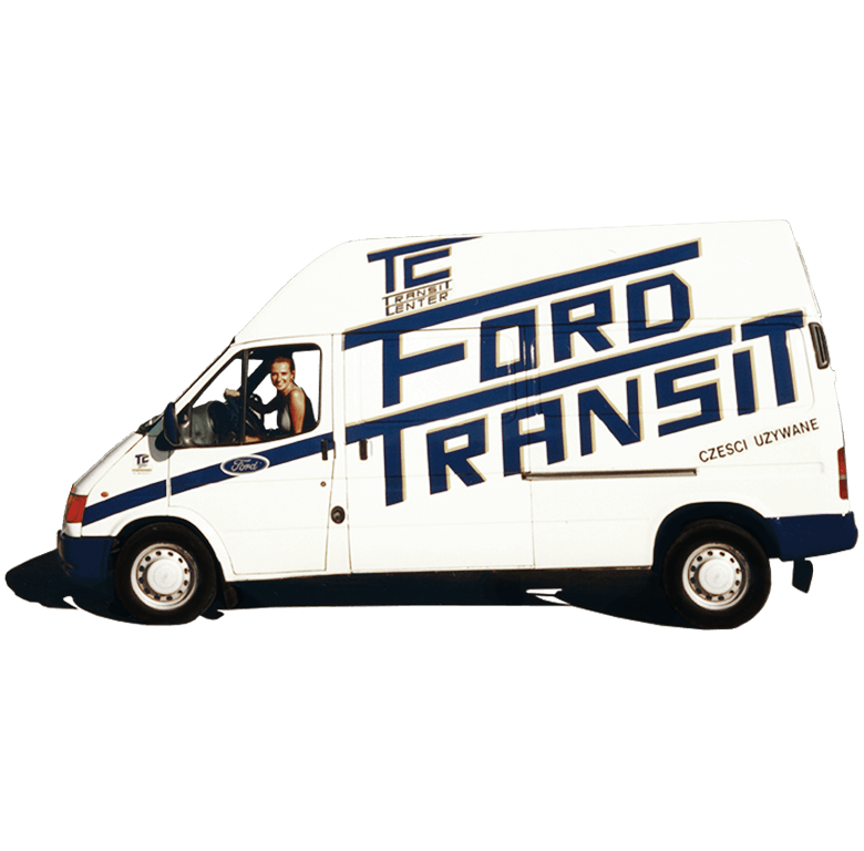 Ford Transit MK5 Transit Center Historie